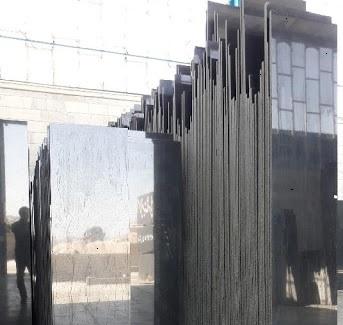 سنگ گرانیت مشکی عرض 40 برای نمای ساختمان